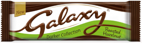 Galaxy Darker Collection Roasted Hazelnut  40g (UK)